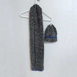 Gap Marled Knit Hat & Scarf Set
